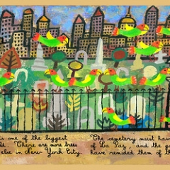 """Wild Parrots of Brooklyn • <a style=""""font-size:0.8em;"""" href=""""http://www.flickr.com/photos/46362485@N02/24779668442/"""" target=""""_blank"""">View on Flickr</a>"""