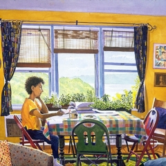 "Paulette in Spuyten Duyvil Apartment • <a style=""font-size:0.8em;"" href=""http://www.flickr.com/photos/46362485@N02/11196458535/"" target=""_blank"">View on Flickr</a>"