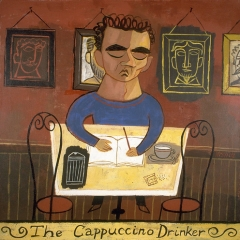 "The Cappuccino Drinker • <a style=""font-size:0.8em;"" href=""http://www.flickr.com/photos/46362485@N02/11193824436/"" target=""_blank"">View on Flickr</a>"