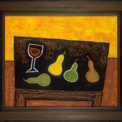 "Still Life with Wine and Pears • <a style=""font-size:0.8em;"" href=""http://www.flickr.com/photos/46362485@N02/11193710315/"" target=""_blank"">View on Flickr</a>"