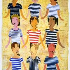 "Famous Gondolier Shirts • <a style=""font-size:0.8em;"" href=""http://www.flickr.com/photos/46362485@N02/11193569353/"" target=""_blank"">View on Flickr</a>"