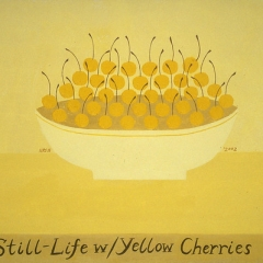 "Yellow Bowl of Cherries • <a style=""font-size:0.8em;"" href=""http://www.flickr.com/photos/46362485@N02/11193647285/"" target=""_blank"">View on Flickr</a>"