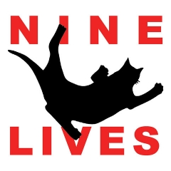 "nine lives logo • <a style=""font-size:0.8em;"" href=""http://www.flickr.com/photos/46362485@N02/35388132570/"" target=""_blank"">View on Flickr</a>"