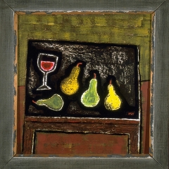 "Still Life w/ Wine and Pears • <a style=""font-size:0.8em;"" href=""http://www.flickr.com/photos/46362485@N02/11193814485/"" target=""_blank"">View on Flickr</a>"