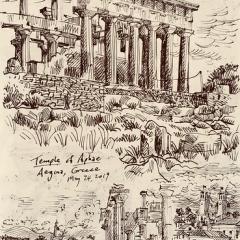"Greece - 2019 Sketchbook • <a style=""font-size:0.8em;"" href=""http://www.flickr.com/photos/46362485@N02/48007429238/"" target=""_blank"">View on Flickr</a>"