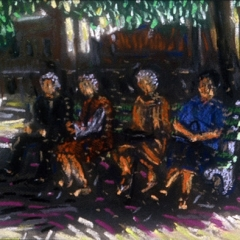 "Old Ladies on Park Bench • <a style=""font-size:0.8em;"" href=""http://www.flickr.com/photos/46362485@N02/13698694723/"" target=""_blank"">View on Flickr</a>"