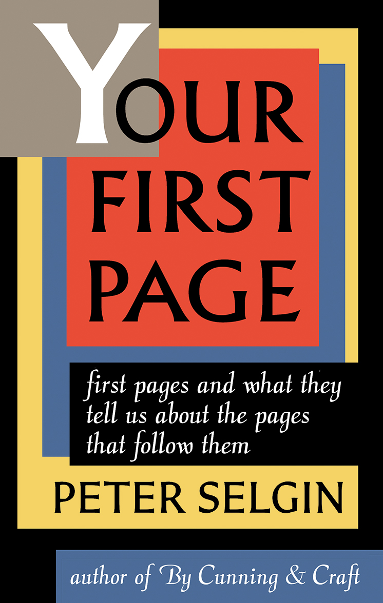 Your First Page