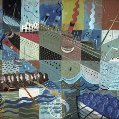 """Cubist Titanic • <a style=""""font-size:0.8em;"""" href=""""http://www.flickr.com/photos/46362485@N02/24759750491/"""" target=""""_blank"""">View on Flickr</a>"""