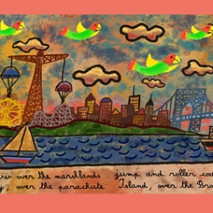 """Wild Parrots of Brooklyn • <a style=""""font-size:0.8em;"""" href=""""http://www.flickr.com/photos/46362485@N02/24897586015/"""" target=""""_blank"""">View on Flickr</a>"""