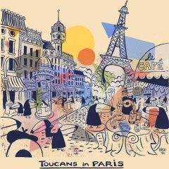 """Toucans in Paris • <a style=""""font-size:0.8em;"""" href=""""http://www.flickr.com/photos/46362485@N02/24721266711/"""" target=""""_blank"""">View on Flickr</a>"""