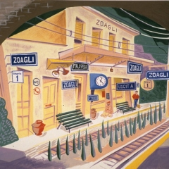 """Zoagli Train Station • <a style=""""font-size:0.8em;"""" href=""""http://www.flickr.com/photos/46362485@N02/24185687714/"""" target=""""_blank"""">View on Flickr</a>"""