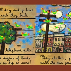 """Wild Parrots of Brooklyn • <a style=""""font-size:0.8em;"""" href=""""http://www.flickr.com/photos/46362485@N02/24897587545/"""" target=""""_blank"""">View on Flickr</a>"""