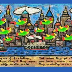 """Wild Parrots of Brooklyn • <a style=""""font-size:0.8em;"""" href=""""http://www.flickr.com/photos/46362485@N02/24804222181/"""" target=""""_blank"""">View on Flickr</a>"""