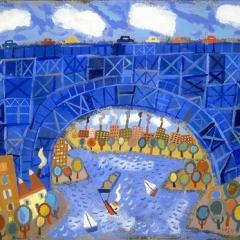 "Blue Bridge, Spuyten Duyvil • <a style=""font-size:0.8em;"" href=""http://www.flickr.com/photos/46362485@N02/11193662356/"" target=""_blank"">View on Flickr</a>"