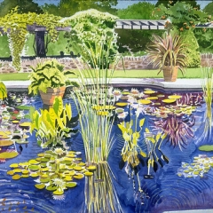 """Reflecting Pond, Wave Hill • <a style=""""font-size:0.8em;"""" href=""""http://www.flickr.com/photos/46362485@N02/11196624283/"""" target=""""_blank"""">View on Flickr</a>"""