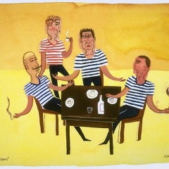 """Gondoliers on Break • <a style=""""font-size:0.8em;"""" href=""""http://www.flickr.com/photos/46362485@N02/11193867986/"""" target=""""_blank"""">View on Flickr</a>"""