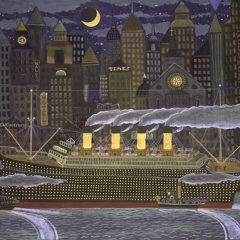 """Titanic Arrives in NY Harbor • <a style=""""font-size:0.8em;"""" href=""""http://www.flickr.com/photos/46362485@N02/11193532574/"""" target=""""_blank"""">View on Flickr</a>"""