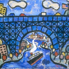 """Blue Bridge • <a style=""""font-size:0.8em;"""" href=""""http://www.flickr.com/photos/46362485@N02/11193865376/"""" target=""""_blank"""">View on Flickr</a>"""