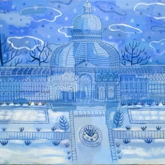 """Blue Conservatory • <a style=""""font-size:0.8em;"""" href=""""http://www.flickr.com/photos/46362485@N02/11193773724/"""" target=""""_blank"""">View on Flickr</a>"""