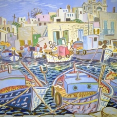 """Boats in Naoussa • <a style=""""font-size:0.8em;"""" href=""""http://www.flickr.com/photos/46362485@N02/13701822024/"""" target=""""_blank"""">View on Flickr</a>"""