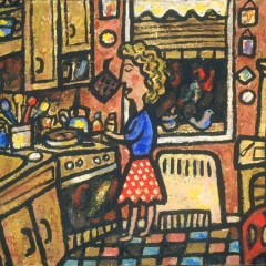 """Paulette in Kitchen • <a style=""""font-size:0.8em;"""" href=""""http://www.flickr.com/photos/46362485@N02/11193791744/"""" target=""""_blank"""">View on Flickr</a>"""