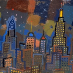 """Cityscape at Night • <a style=""""font-size:0.8em;"""" href=""""http://www.flickr.com/photos/46362485@N02/11193819314/"""" target=""""_blank"""">View on Flickr</a>"""